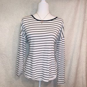 Black and white striped sweater from GAP M size
